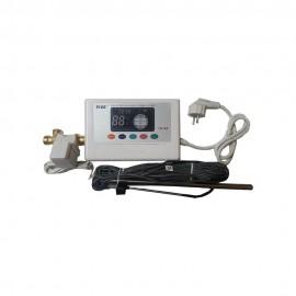 Panou solar Inox/Al 120 l 12 tuburi ,nepresurizat cu controler electronic inclus