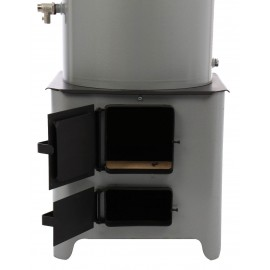 Ansamblu boiler 90L electric cu focar usa tabla