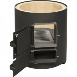 Ansamblu boiler 120 L + electric cu focar usa tabla