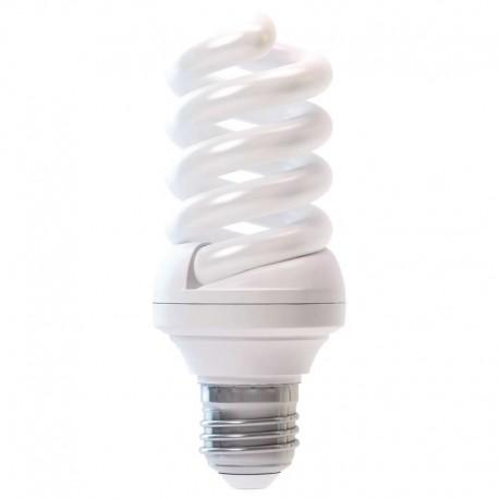 Bec economic 15W E27 spirala, ultra mini, alb rece