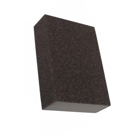 Burete abraziv pentru slefuire vopsea / lac / chit / lemn, 10 x 7 x 25 mm, granulatie 100