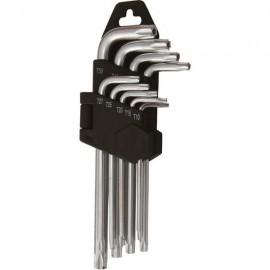 Set 9 chei imbus stea lungi, T10-T50