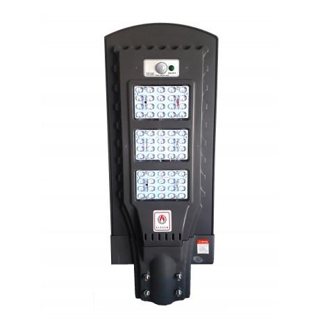 Lampa stradala cu leduri 60 w , panou solar, senzor de noapte/zi si senzor de miscare