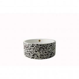 Lavoar pe blat ceramic Rotund-42 cm , Cu preaplin 808 H