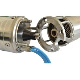 "Pompa submersibila IBO FP4 A015, 1,1 KW , Pompa submersibila rezistenta la nisip, cu supapa sens 1"" inclusa"