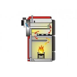 Thermoflux Centrala termica 50 KW pe peleti Thermoflux Pelling 50 Maxi (00050MD)