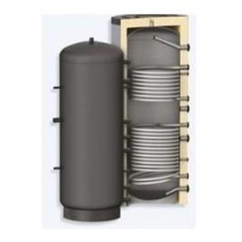 Rezervor de acumulare Woody 1000 L , izolat, cu 2 serpentine PR2 1000(PR2-1000)