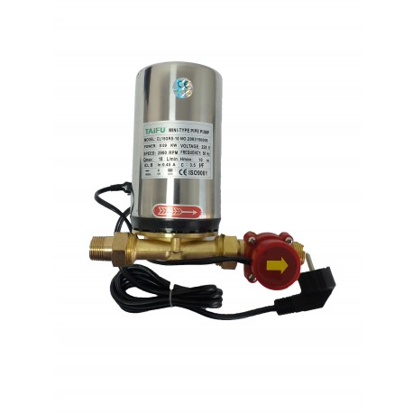 Pompa de ridicare a presiunii apei calde pentru panouri solare nepresurizate, automata, fluxostat incorporat, 150 W QAL RS - 9