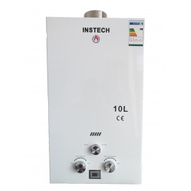 Incalzitor instant gaz pentru apa INSTECH OX -10 GPL , 10 l/min , Tiraj fortat