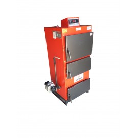 CAZAN COMBUSTIBIL SOLID INSTECH 5G-53 KW CU VENTILATOR SI AUTOMATIZARE
