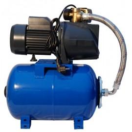 Hidrofor JSW 150 IBO 1,5 KW , aspiratie 8 m , refulare 46 m cu vas 24 l