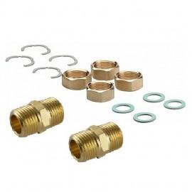 Set 4 piulite cu niple 1/2-DN16 pentru instalarea tubului din inox