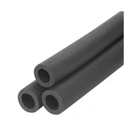 Tub izolator negru 1,5 m , petru tevi cu diametrul de 16 mm