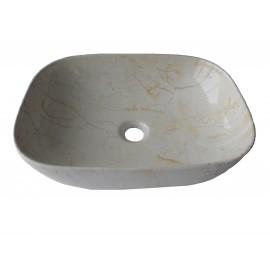 Lavoar pe blat ,ceramic Dreptunghiular , SZ 72