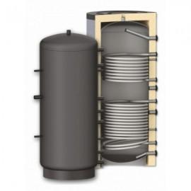 Rezervor de acumulare Woody 800 L , izolat, cu 2 serpentine PR2 800(PR2-800)