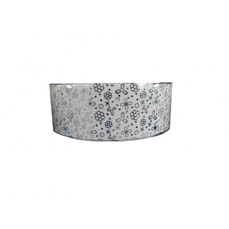 Lavoar ceramic Rotund - 41 cm ,Montaj pe blat 5103