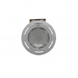 Spot incastrat fix 2x26W E27 IP20 -Rotund Alb