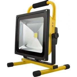 Proiector LED 30W Acumulator si stativ