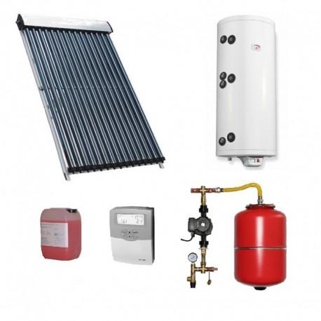 Pachet solar Kit complet QAL-Solar Energy Heat Pipe 4-5 persoane 150 L ELDOM , QAL58/1800-15