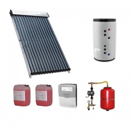 Pachet solar Kit complet QAL-Solar Energy 25 tuburi Heat Pipe 4-5 persoane 200 L ELDOM , QAL58