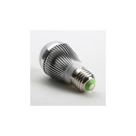 Bec LED E27 9W Glob Mat Aluminiu