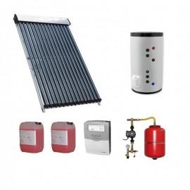 Pachet solar Kit complet QAL-Solar Energy 20 tuburi Heat Pipe 4-5 persoane 200 L ELDOM -2S, QAL58/24mm