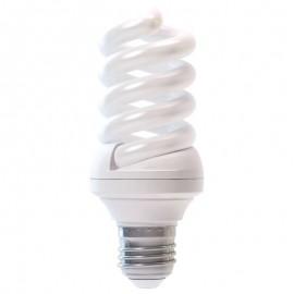 Bec economic 18 W E27 spirala, alb rece