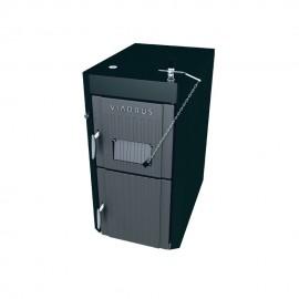 Pachet Viadrus U22 Economy 34 KW pe lemne din fonta cu gazeificare (041533-525) cu termoboiler Tesy 100 L