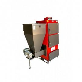 Pachet cazan Instech KOR 3G/SO - 53 KW pe lemne cu termoboiler Tesy 100 L