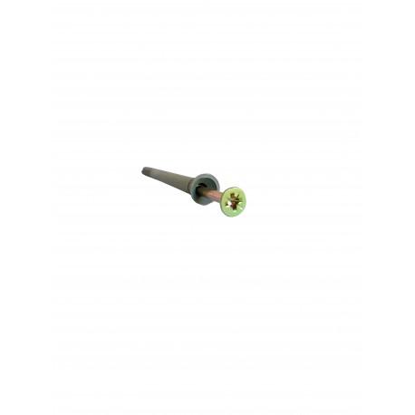 Diblu cu surub cui percutie 6 x 80 mm (150 bucati)