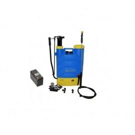 Pompa stropit electrica si Manuala QAL-Tools 16 Litri, 5 Bar, regulator presiune cu baterie acumulator 12 V