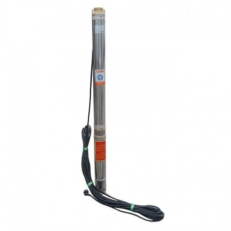 Pompă submersibilă multietajată, rezistentă la nisip, pentru fântâni sau foraje IBO 3STm28 1,5 KW