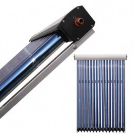 Pachet solar Kit complet QAL-Solar Energy Heat Pipe 3-4 persoane 120 L ELDOM , QAL58/1800-15